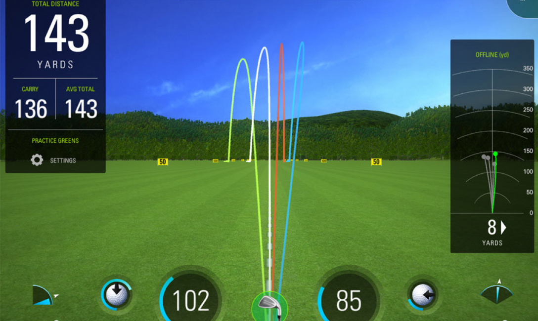 Sky Trak Golf Picture