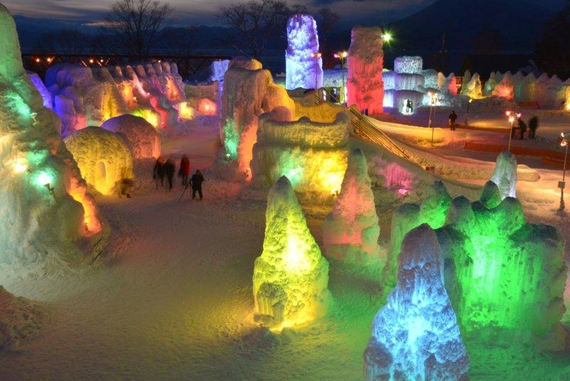 Shikotsu Ice Festival