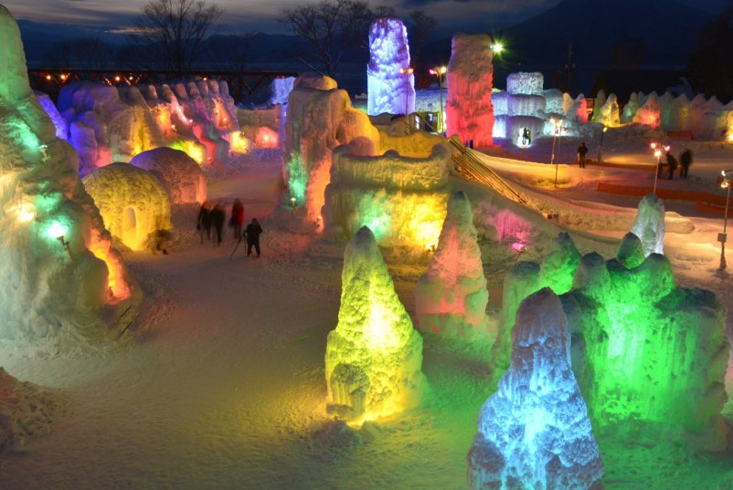 Shikotsu Ice Festival Compressed