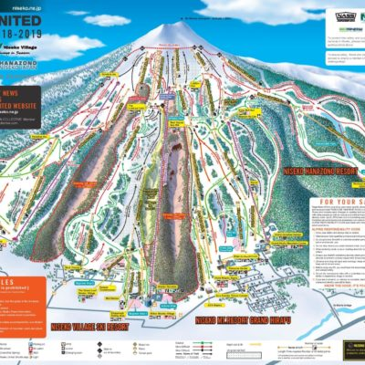 Winter 2018 19 Niseko United Map En